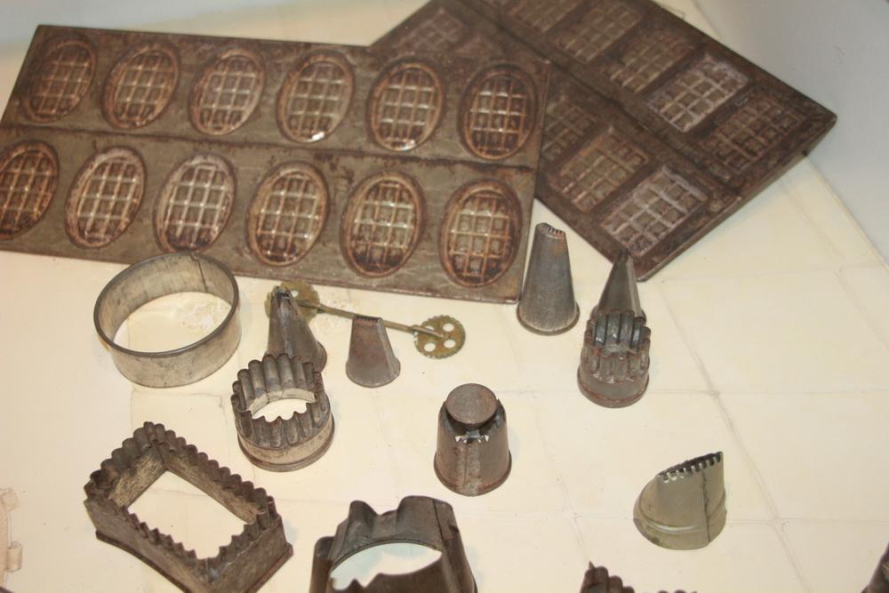 koekjesmallen, bakkerij- en ijsmuseum Hellendoorn