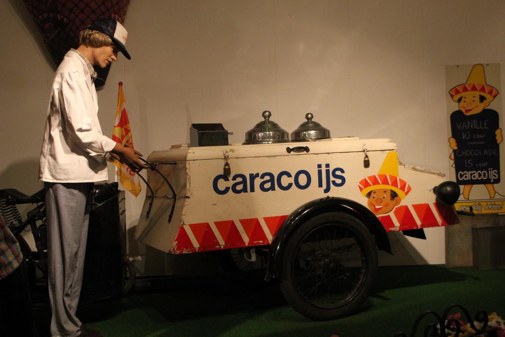 ijsco kar Caraco ijs, Bakkerij- en ijsmuseum Hellendoorn